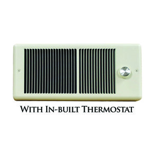TPI E4315TRPW Wall Heater, Fan Forced, 1500W, 120V, White