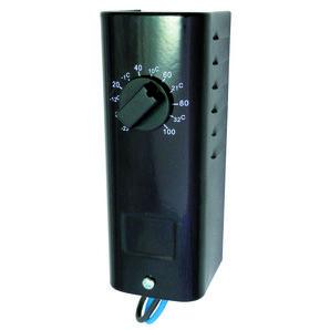 TPI KT110 Baseboard Heater Thermostat, Single Pole, 120-277V