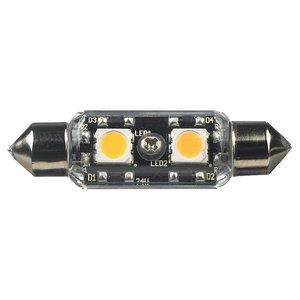 Tech Lighting 96116S-33 LED Frosted Festoon Lamp, 0.78W, 12V