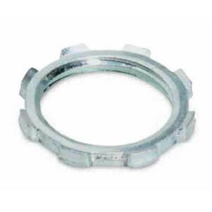 "Thomas & Betts 142AL Locknut, Size: 3/4"", Material: Aluminum"