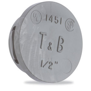 """Thomas & Betts 1453 Knockout Seal, Type: Snap-In, Size: 1"""", Thermoplastic"""