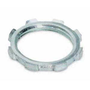 "Thomas & Betts 145AL Locknut, Size: 1/2"", Material: Aluminum"