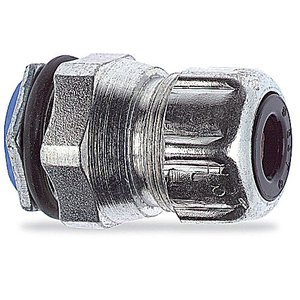 """Thomas & Betts 2634 Liquidtight Cord Connector, Type Chase, Size: 1/2"""", Steel"""