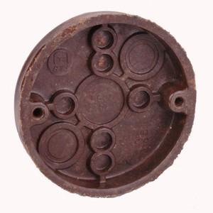 "Thomas & Betts 3060 3-1/2"" Diameter, Ceiling/Fixture Pan, Depth 5/8"", Non-Metallic"