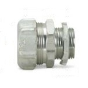 "Thomas & Betts 5232AL Liquidtight Connector, Straight, 1/2"", Non-Insulated, Aluminum"