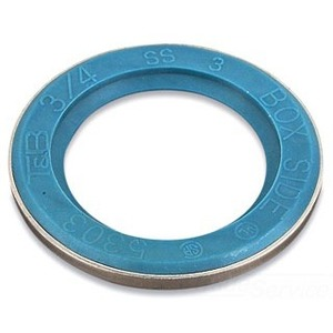 "Thomas & Betts 5262 Liquidtight Sealing Gasket, 1/2"", Stainless Steel Retainer"
