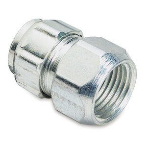 """Thomas & Betts 530-TB EMT Combination Compression Coupling, 1/2"""", Steel"""