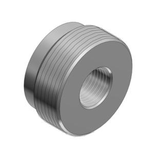 "Thomas & Betts 608AL Reducer, Threaded, Size: 1-1/2"" x 3/4"", Material: Aluminum"