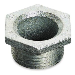 "Thomas & Betts 847 Chase Nipple, 2"", Zinc Die Cast"