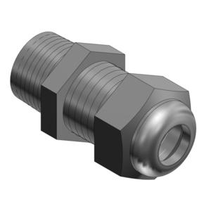 "Thomas & Betts CC-NPT-38-B 3/8"" Nonmetallic Cable Gland Black"