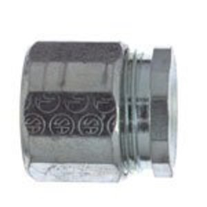 "Thomas & Betts EK-404 Rigid Three-Piece Coupling, 1-1/4"", Threaded, Steel"