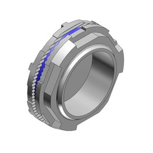 """Thomas & Betts H075CAPA Conduit Hub Capoff, 3/4"""", Insulated Throat, Sealing Ring, Aluminum"""