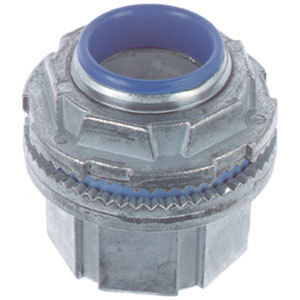 "Thomas & Betts H075CP Conduit Hub, 3/4"", Insulated, Chrome Plated, Zinc Die Cast"