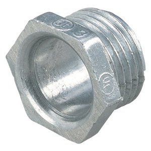 "Thomas & Betts HA-208 Chase Nipple, 3"", Zinc Die Cast"