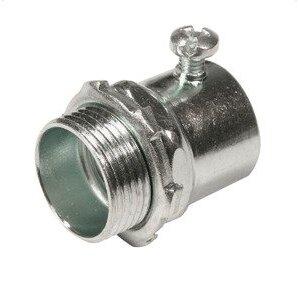 "Thomas & Betts HC-106 Rigid Set Screw Connector, Size: 2"", Steel/Zinc"