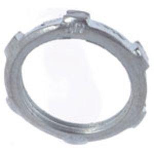 "Thomas & Betts LN-110 Conduit Locknut, 4"", Steel"