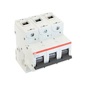 Thomas & Betts S803U-K50 Circuit Breaker, Miniature, DIN Rail Mount, 50A, 3P, 240VAC