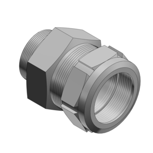 Thomas & Betts ST050-462 Star Teck Aluminum Jacketed Cable Fitting