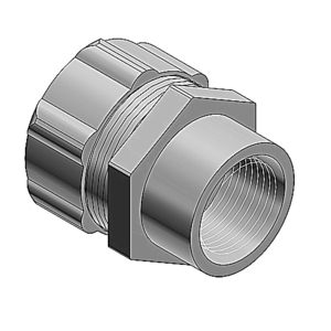 "Thomas & Betts 5272 Combination Coupling, Liquidtight to Rigid, 1/2"", Steel"