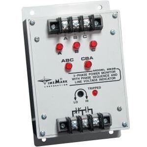 Time Mark C-2638 Power Monitor, 3-PH, 480VAC Input, 380-480VAC Range, 6.7W