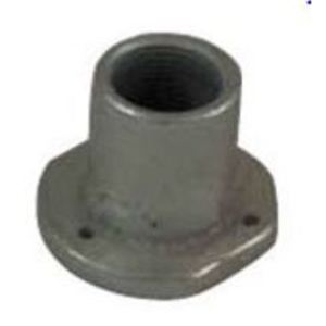 "Topaz 1793 Concrete Slab Insert, 1"", Malleable"