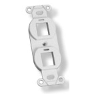 Tyco Electronics 1116618-3 Mounting Strap Kit, 2-Port, White