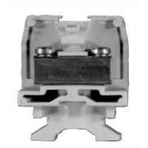 Tyco Electronics 1546234-1 Terminal Block, Feed Through, Flat Base, 350A, 600V AC/DC, Gray