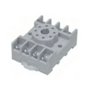 Tyco Electronics 27E892 Socket, 11-Pin, Screw Clamp Terminal, for KRPA Series Relay