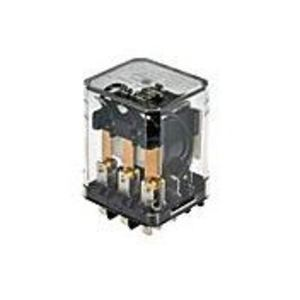 Tyco Electronics KUP-14A15-120 Relay, Ice Cube, Enclosed, 10A, 11-Blade, 3PDT, 120VAC Coil