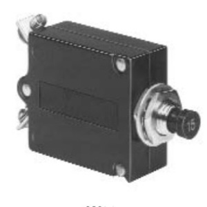 Tyco Electronics W23-X1A1G-40 40 Amp Push-Pull Thermal Breaker W23