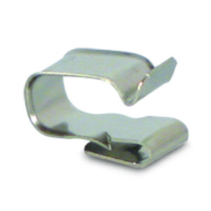 UniRac 008004S Wire Management Clips, Stainless, 2-Wire