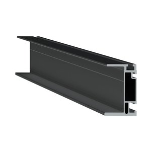 "UniRac 410168M SolarMount HD Rail 168"" Mill"