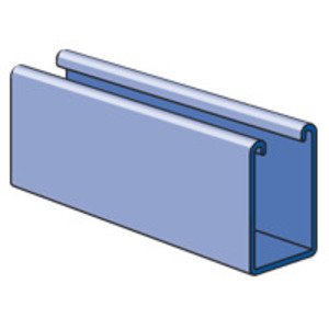 Unistrut P5500-20PG 1-5/8 X 2-7/16 X 20FT GALVSTRUT - SOLID