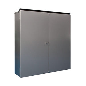 "Unity AEP363612SDCT3 Enclosure, NEMA 3R, Two Door, 36"" x 36"" x 12"", Steel/Powder Coated"