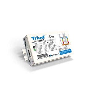 Universal Lighting Technologies C2642UNVME000K Electronic Ballast, Compact Fluorescent, 2-Lamp, 26/32/42W, 120-277V