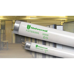 "Universal Lighting Technologies F32T8/850HLA00C Fluorescent Lamp, T8, 48"", 32W, 5000K"