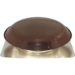 Ventamatic VXNRGTAMBRNT Power Attic Ventilator, Roof Mount, 1400CFM, Brown Finish