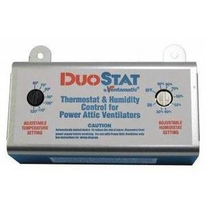 Ventamatic XXDUOSTAT Adjustable Dual Thermostat/Humidistat