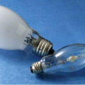Venture Lighting MH70W/U/PS Metal Halide Lamp, Pulse Start, ED17, 70W, Clear