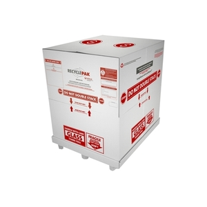Veolia SUPPLY-144 Lamp Recycling Box, Fluorescent