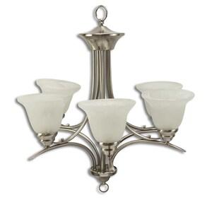 Volume Lighting V5245-33 Trinidad Five Lamp Chandelier