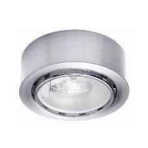 WAC Lighting HR-86-BN Button Light, Xenon, 20W, 12V, Brushed Nickel