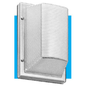 WF Harris Lighting WFH300WH Vandal-Resistant Wall Light, White