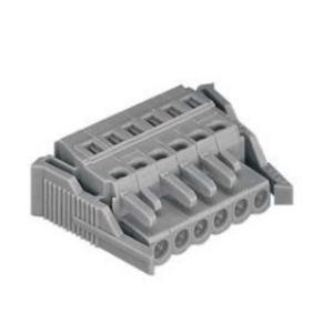 Wago 231-112/037-000 Rectangular Connector, Female, MIDI, 24P, Locking Lever, Gray