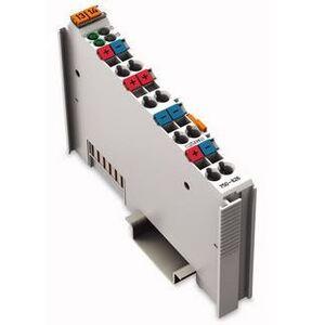 Wago 51180903 Filter Module, System Field Supply, 24VDC, 1.5A, Light Gray