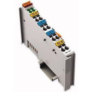 Wago 51188456 I/O Module, 4 Channel, Digital Output, 24VDC, 0.5A, 2 Conductor