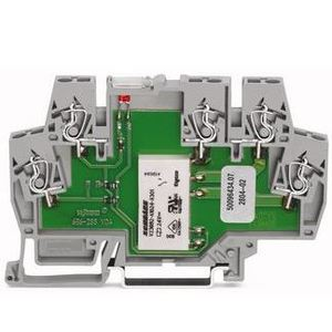 Wago 51286634 Terminal Block, Switching Relay, 1 Changeover Contact, 5 Conductor