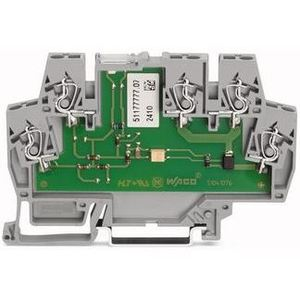 Wago 859-793 Terminal Block, Optocoupler, Low Switching Power, 6mm, 5 Conductor