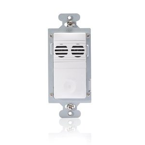 Wattstopper CU-250-W Ultrasonic Multi-Way Wall Switch Vacancy Sensor, White