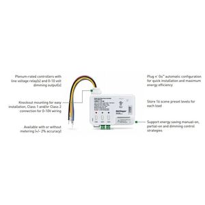 Wattstopper LMRC-111 ON/OFF/0-10 Volt Dimming Room Controller